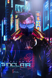 Sinclair Cyberpunk 4k