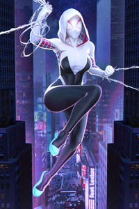 540x960 Sipder Gwen Superhero Girl