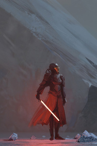 640x1136 Sith Star Wars 4k