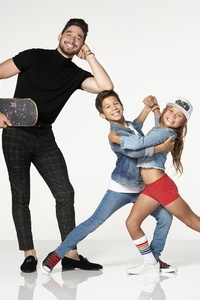 1080x1920 Skateboarder Sky Brown And JT Church In Dancing With The Stars Juniors
