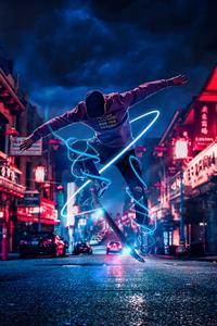 2160x3840 Skater Manipulation 4k