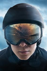 Ski Jumper Helmet