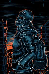 Skull Cap Jacket 4k