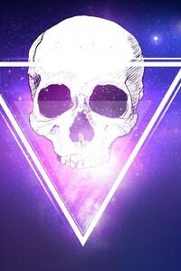 800x1280 Skull Triangle 3d