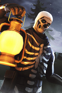 Skull Trooper Fortnite Season 6 4K