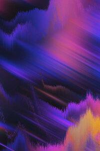 Sky Abstract Neon 4k