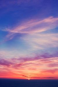 1440x2960 Sky Blue Sunlight Dark