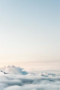 1125x2436 Sky Clouds 5k