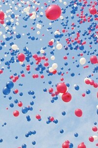 320x480 Sky Full Of Balloons