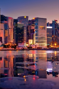 Skycrappers Hong Kong 4k