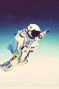 Skydriver Astronaut