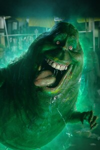Slimer in Ghostbusters 5k