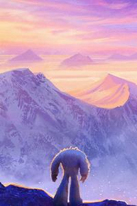 1440x2960 Smallfoot Movie Art