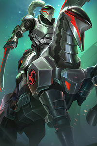 480x800 Smite Splash Cyborg Hachiman