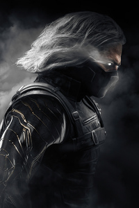 640x960 Smoke X Winter Soldier Mortal Kombat