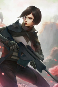 Sniper Girl Alienplanet