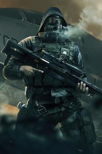 1080x2160 Sniper Rifle 4k