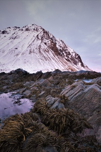 Snock Rocks Mountainscape Landscape 5k