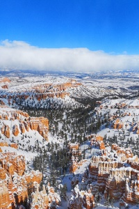 Snow At Bryce Canyon National Park 5k