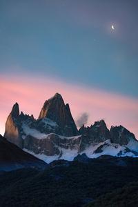 2160x3840 Snow Mountain Argentine Santa Cruz 4k