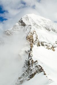 Snow Mountains 4k