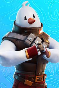 Snowmando Outfit Fortnite 4k