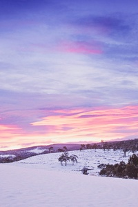 Snowy Mountains Landscape 5k