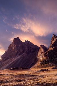 Snowy Peak Mountains