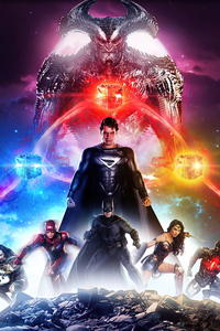 640x960 Snydercut Dc Comic Art 4k