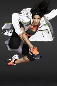 Sofia Boutella Nike Photoshoot