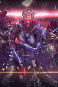 Soldier 76 Ana Reaper Overwatch