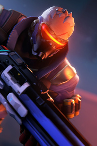 Soldier 76 In Overwatch