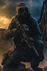 1080x1920 Soldier Destruction Army 4k