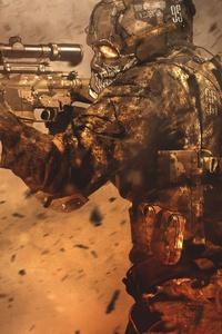 Soldier War Artwork 4k 5k
