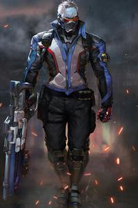 1125x2436 Soldier76 Overwatch