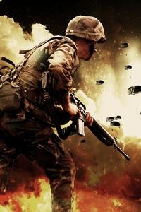 Soldiers War Battlefield Explosion