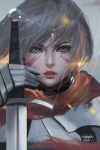 360x640 Solider Women Sword