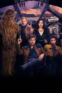 Solo A Star Wars Story Key Art Poster 5k