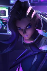 Sombra Overwatch Art 4k