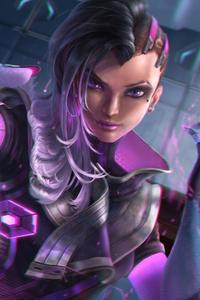 Sombra Overwatch Art 5k