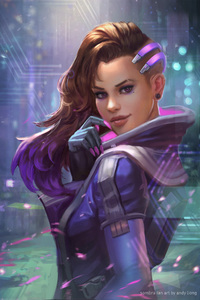 Sombra Overwatch Fan Art