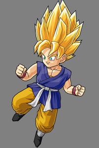 640x1136 Son Goku Dragon Ball 4k