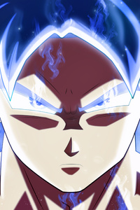 750x1334 Son Goku Dragon Ball Super 4k