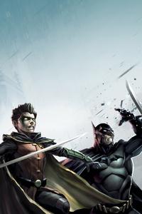 1080x1920 Son Of Batman 4k