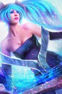 1080x1920 Sona League Of Legends