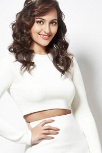Sonakshi Sinha White Dress