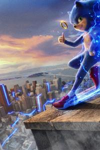 240x400 Sonic The Hedgehog 2019 Movie 4k