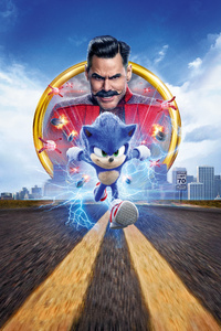 240x320 Sonic The Hedgehog 2020 15k