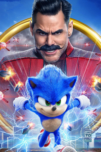 640x1136 Sonic The Hedgehog 2020 Movie