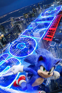 320x568 Sonic The Hedgehog 2020movie